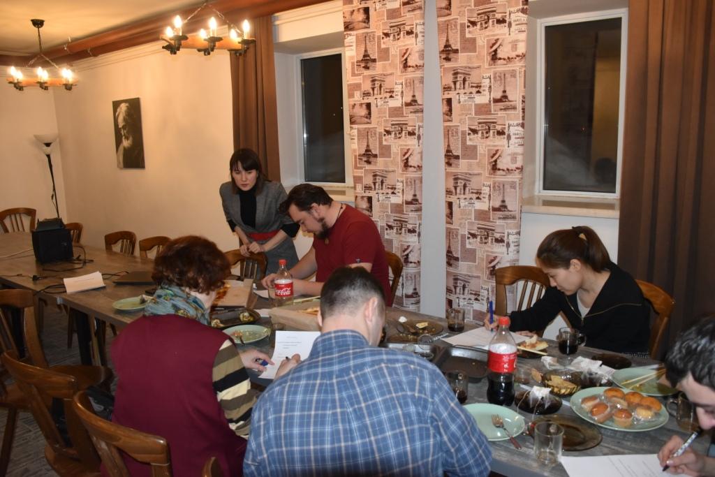 Волонтеры Каритас Астана
