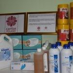 Проект «Приобретение лекарственных средств для пациентов, пострадавших от пандемии COVID – 19. Проведён при поддержке и сотрудничестве Каритас Польша»